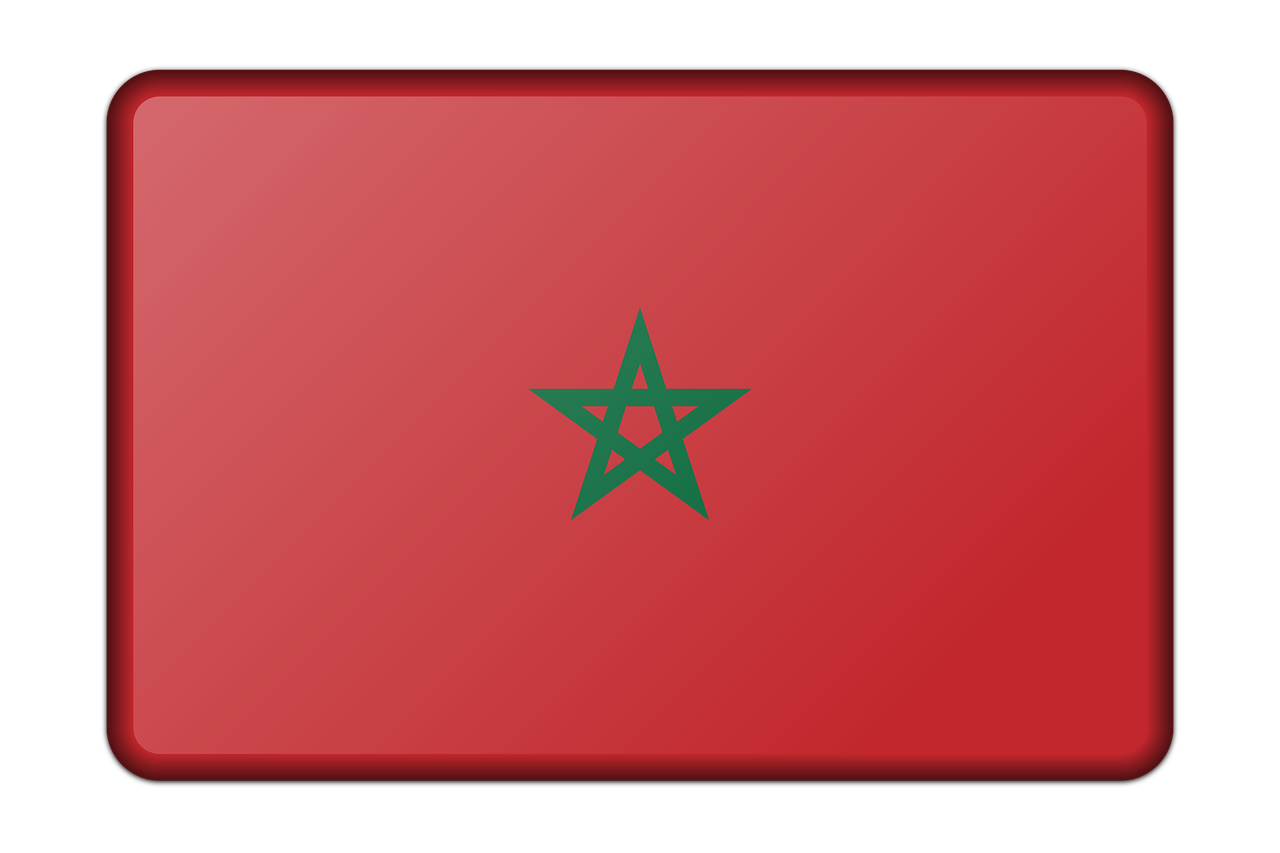 Banner Decoration Flag Morocco