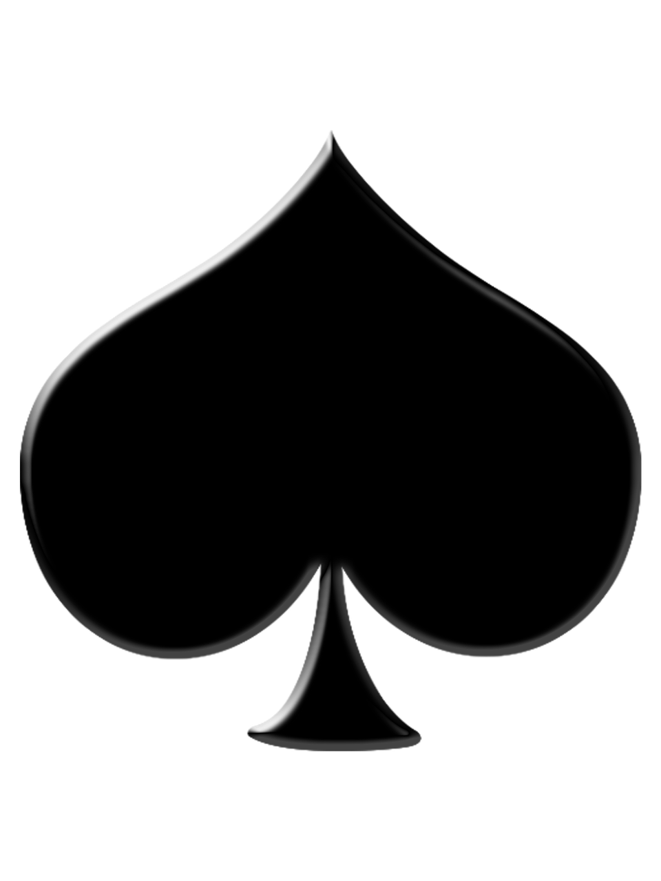 Pica Black As Poker Color Png Picpng
