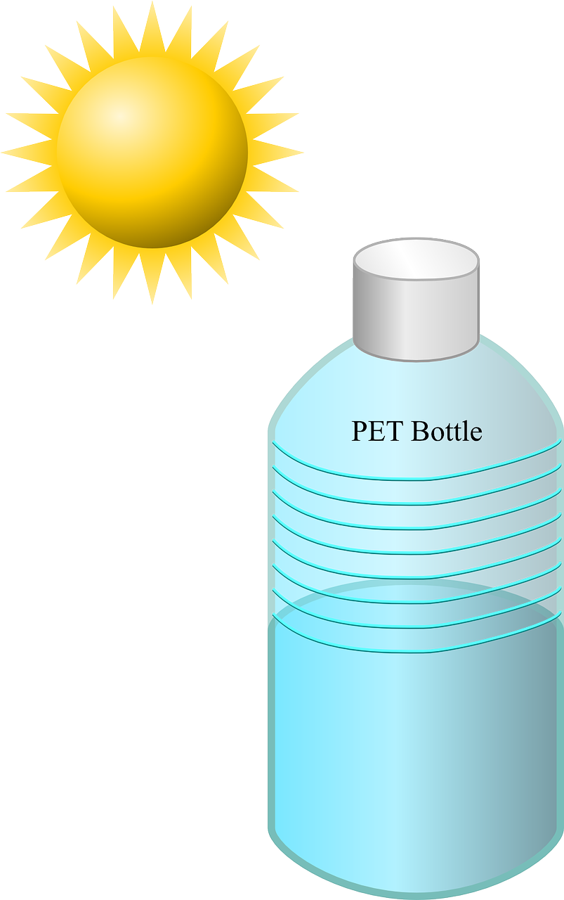Bottle Disinfection Solar Sun
