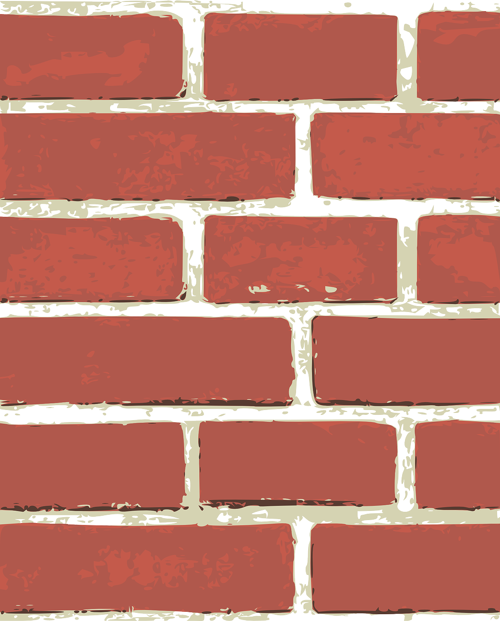 Brick Clinker Pattern Wall