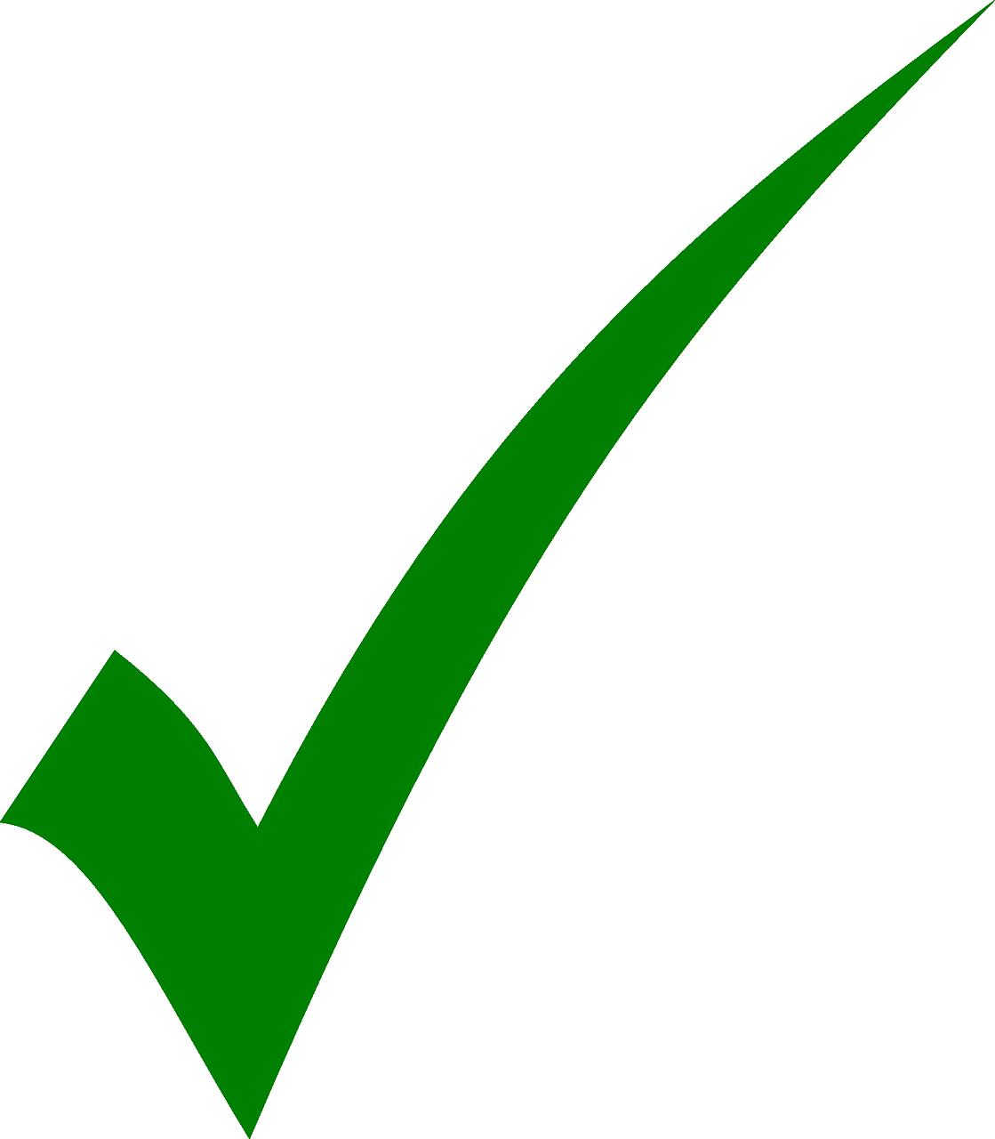 Check Correct Green Mark Tick PNG   Picpng