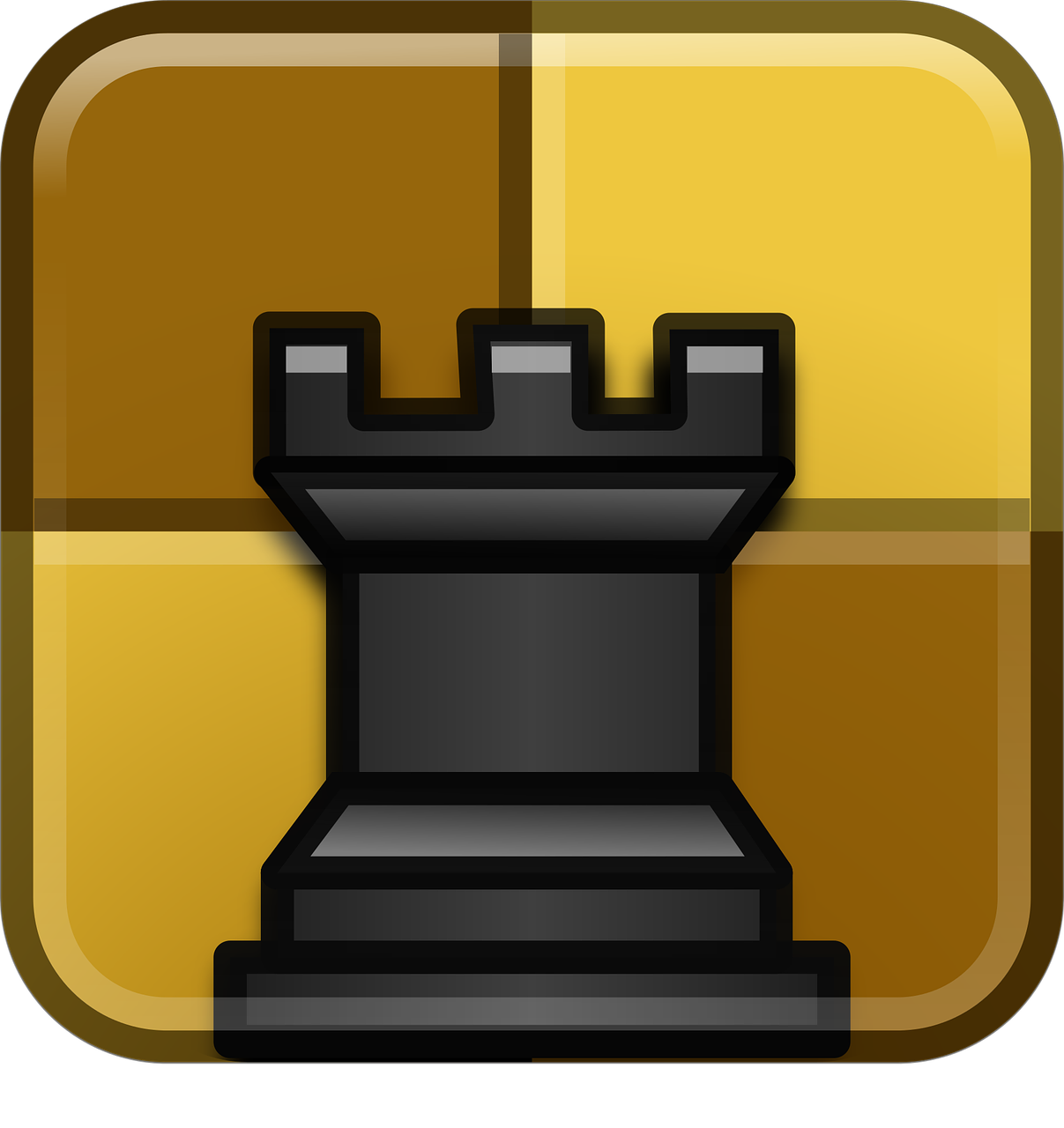 Chess Game Icons Symbol