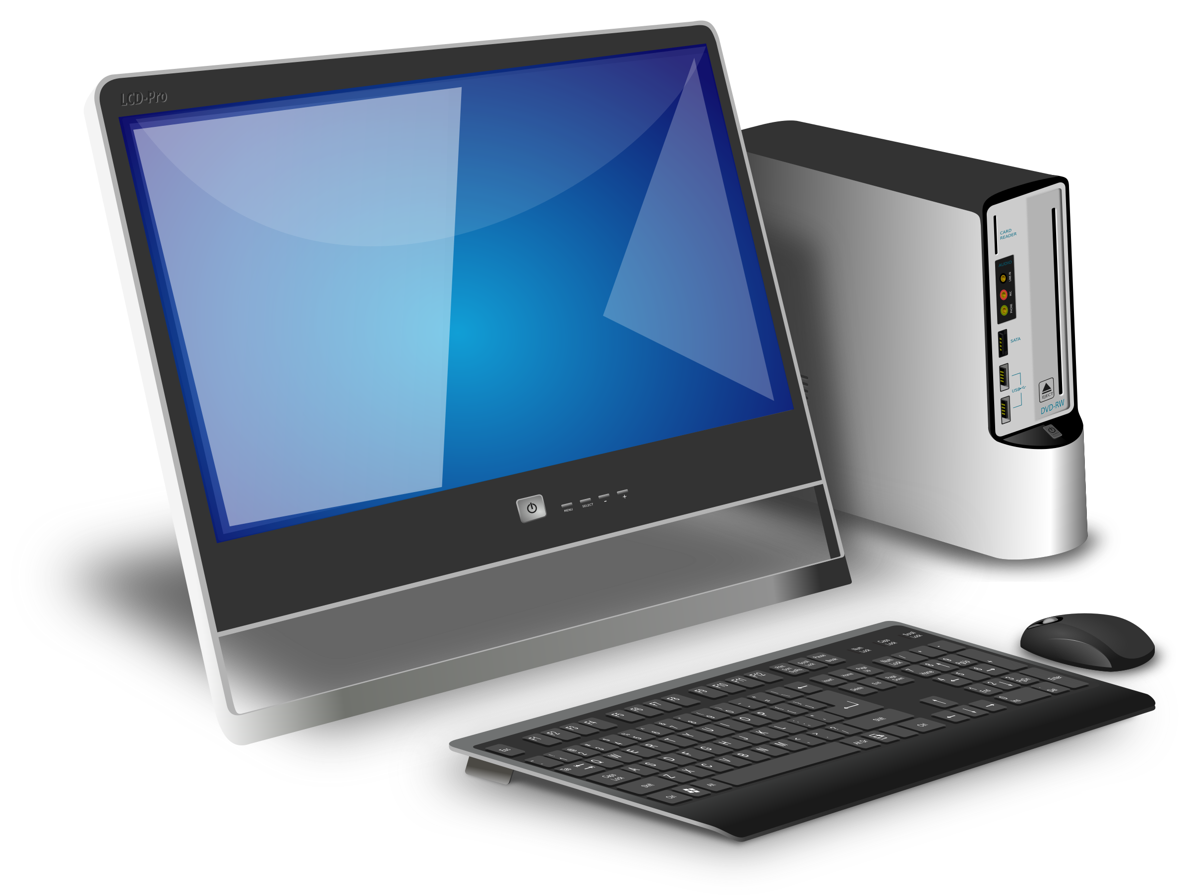 Figure Computer desktop PC