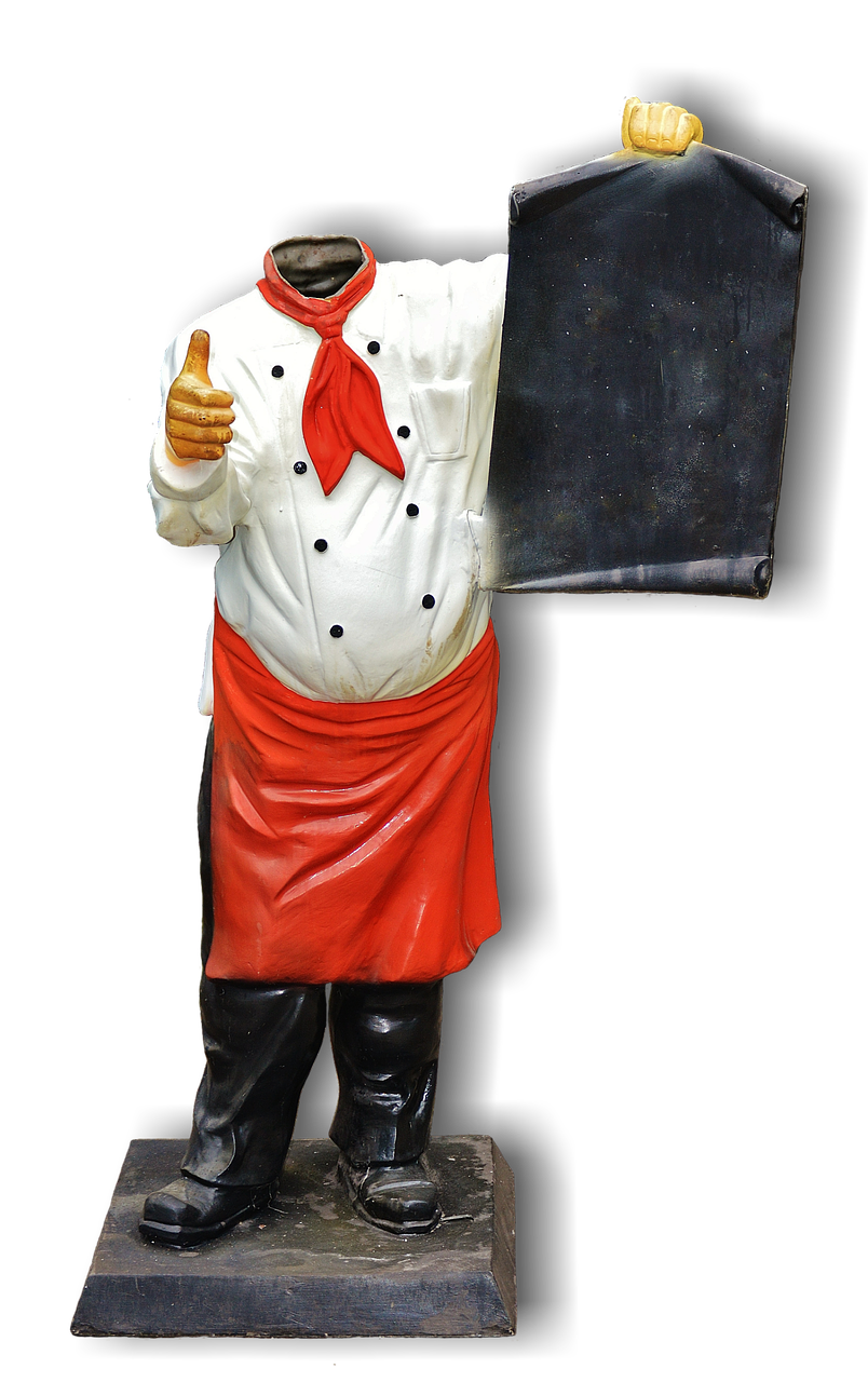 Headless Cooking Isolated Figure