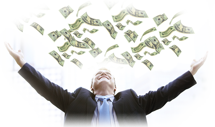 Falling money Clipart