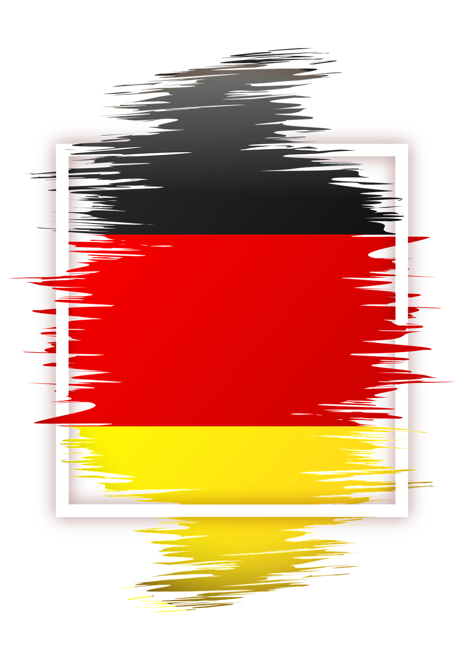 Flag Germany Nation Power