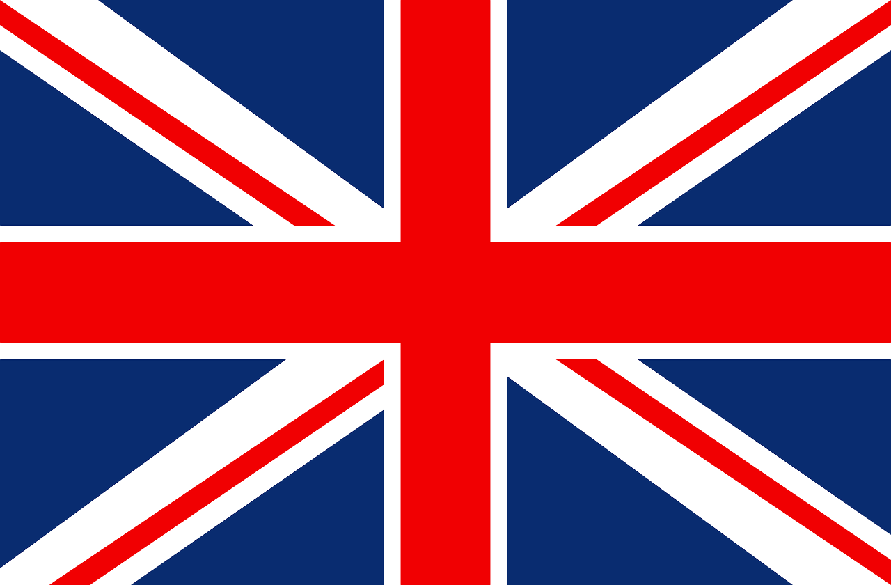 Flag Great Britain Queen Country