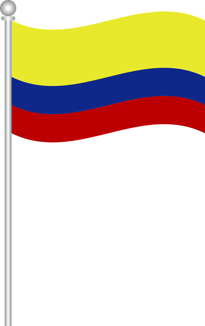 Flag Of Colombia Flag Colombia