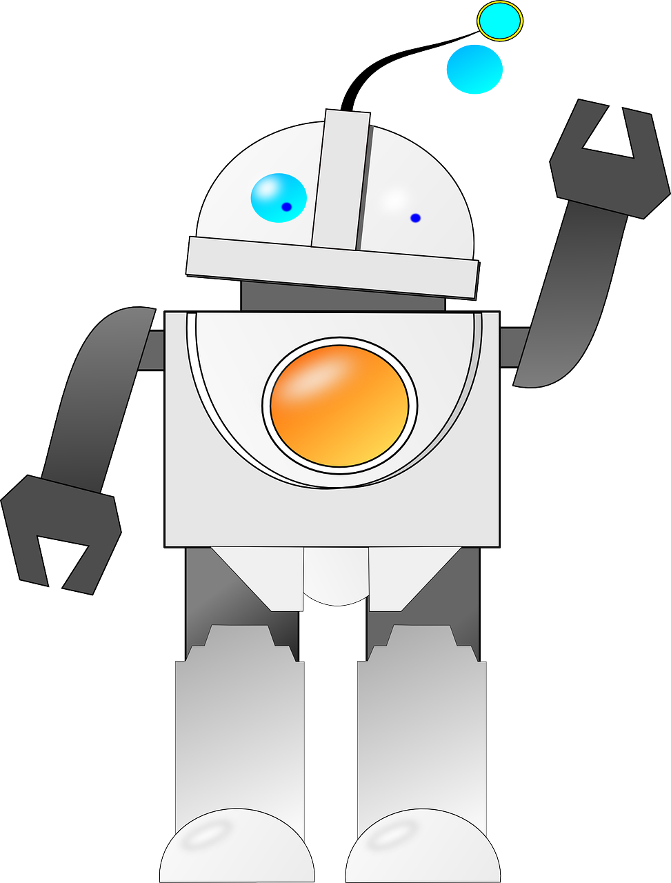 Future Robot Android Machine