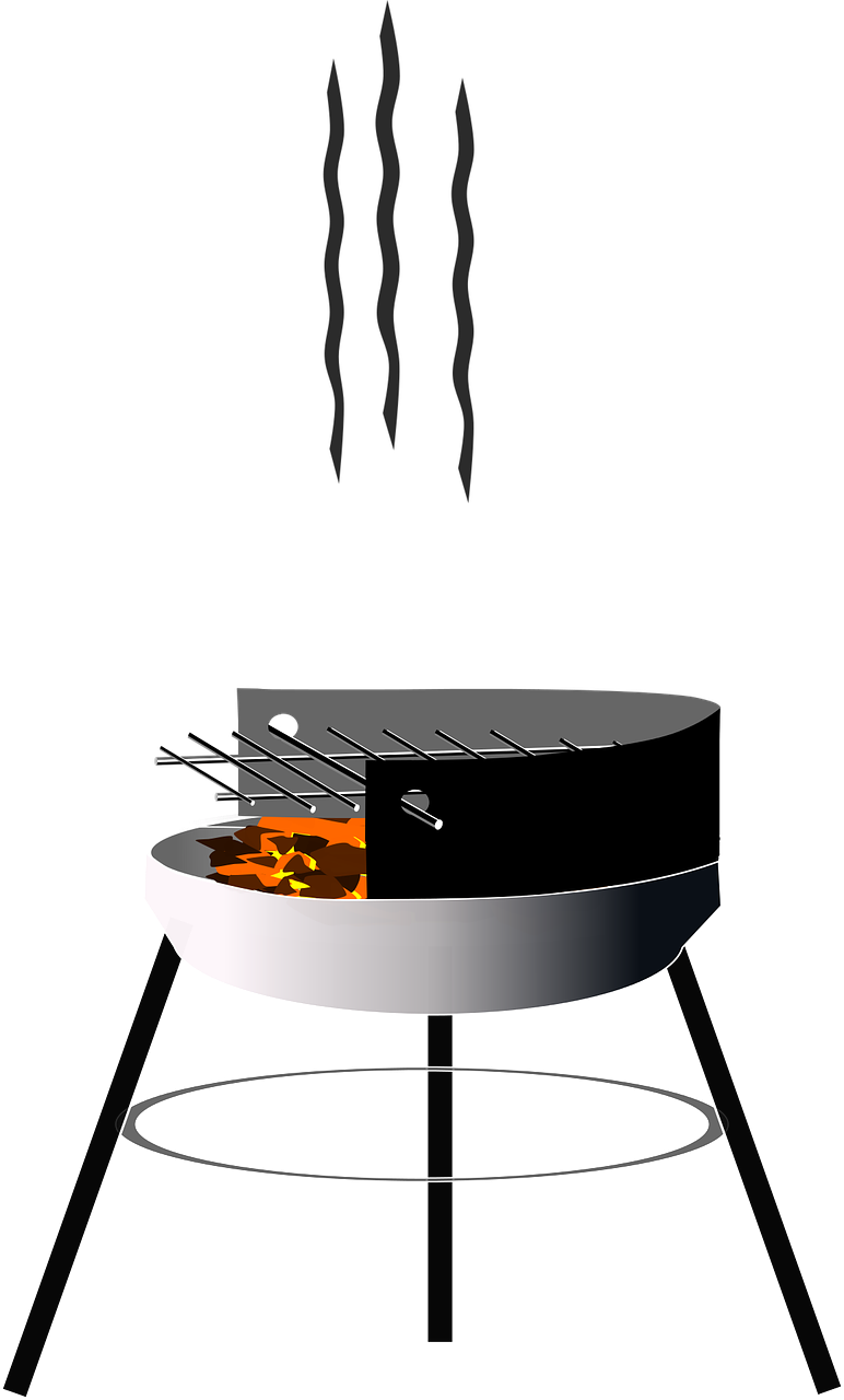Charcoal Barbecue Grid Grill PNG | Picpng