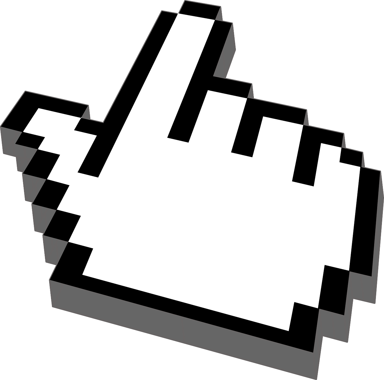 Hand Cursor Pointer Mouse Click PNG | Picpng