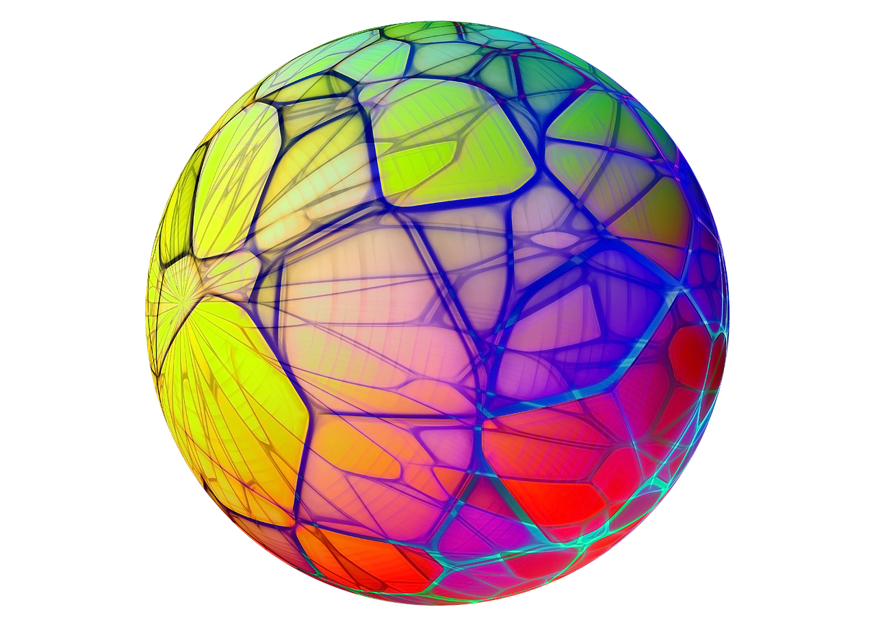 Isolated Transparent Sphere