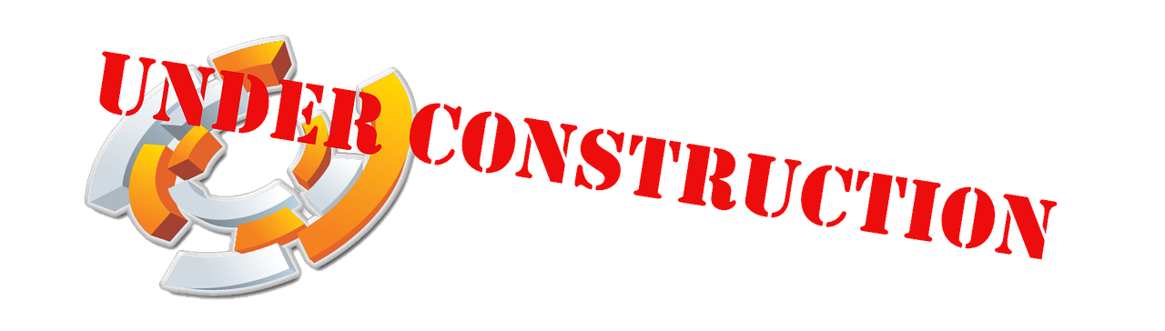 Under Construction Logo Red