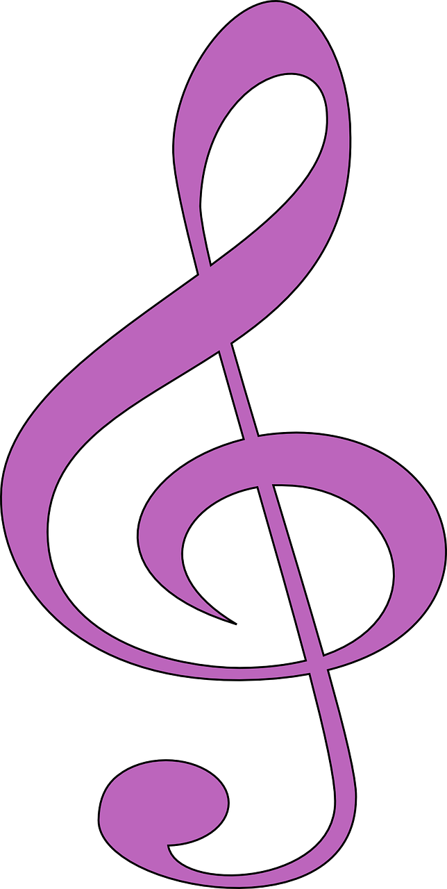 Clef Music Purple Sound