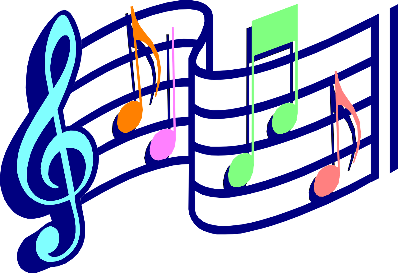 Music Notes Melody Sound