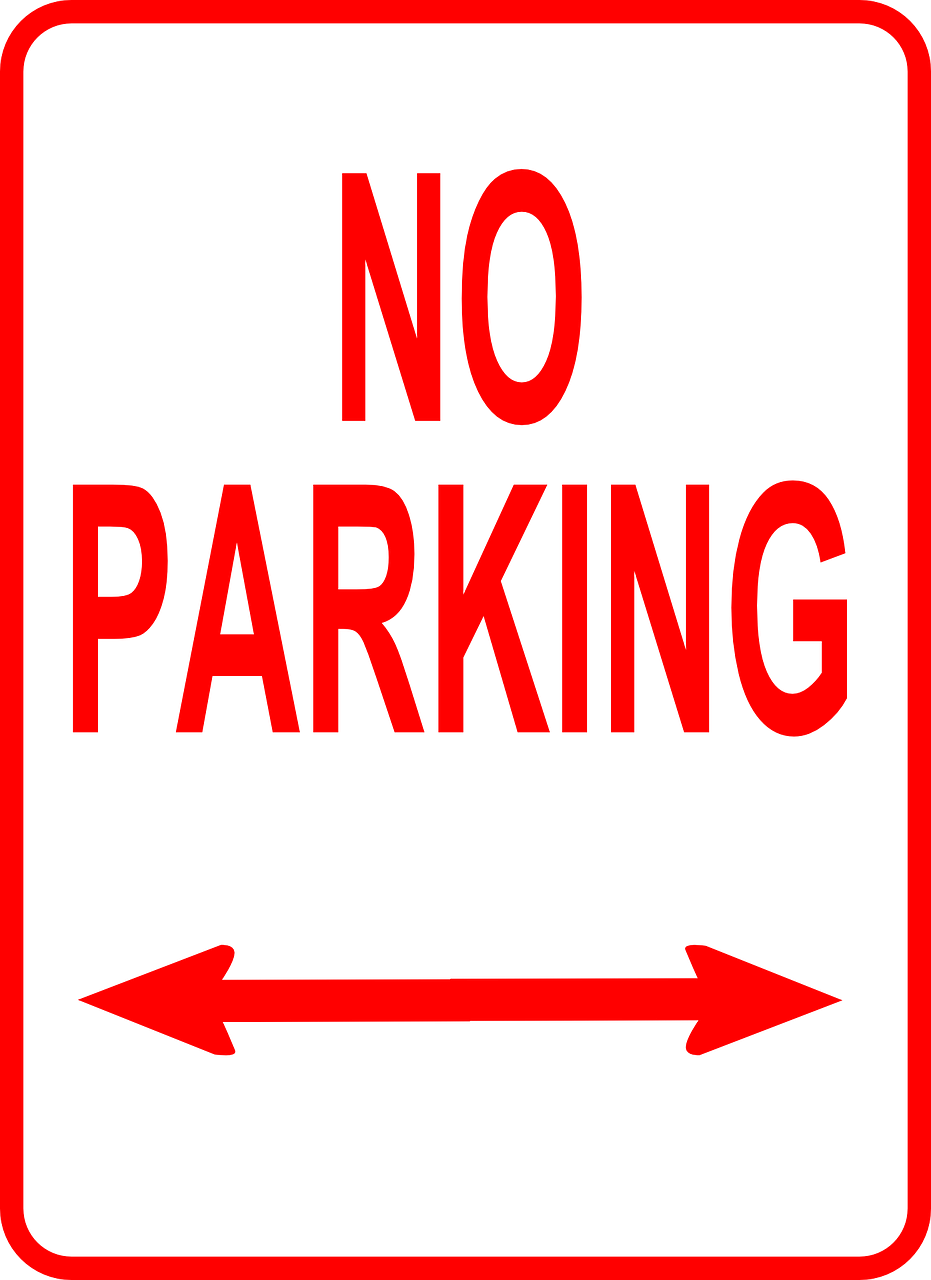No Parking Parking Prohibited
