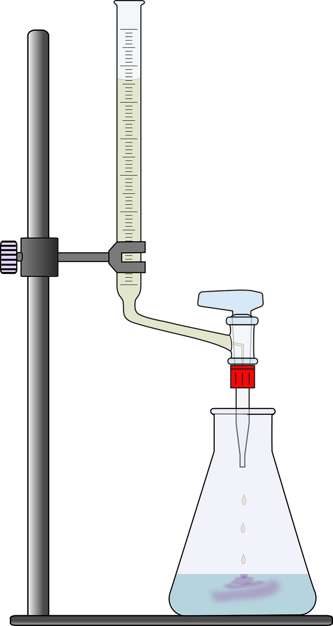 Beaker Liquid Number Read Scale