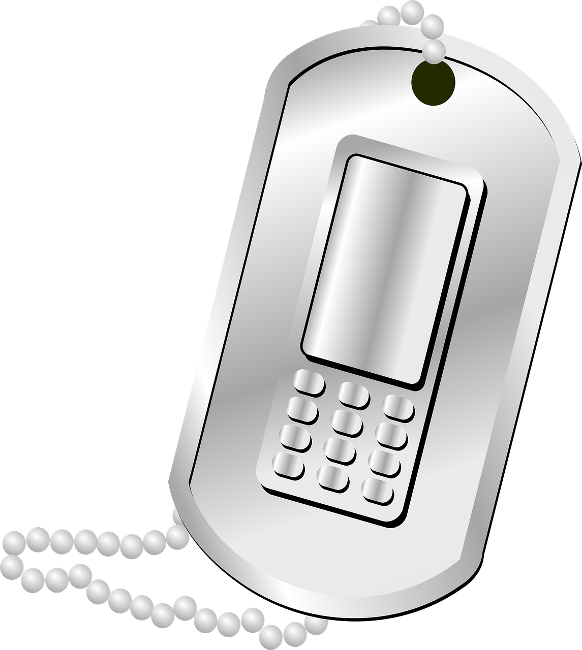 Phone Communication Metal Clip
