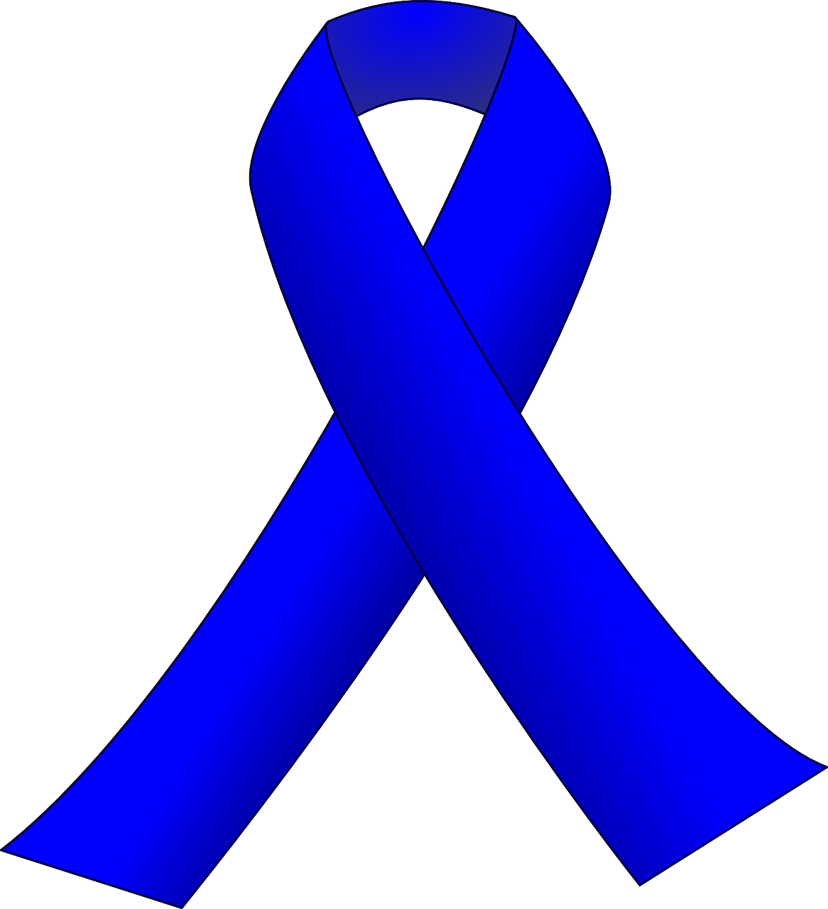 Ribbon Blue Censorship Freedom