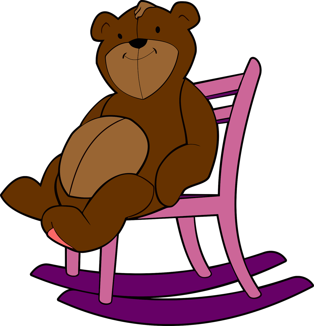 Rocking Chair Stuffed Animal