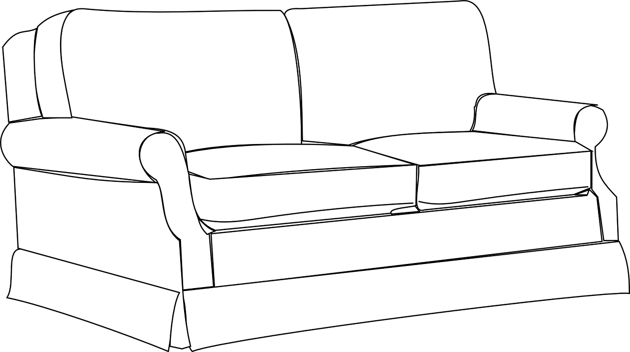 Sofa Couch Furniture Home Room