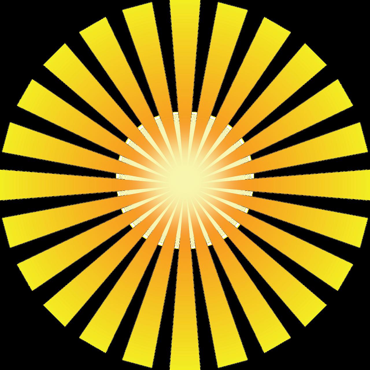 Shine Png / Sunlight, golden shine light effect element transparent background png clipart.