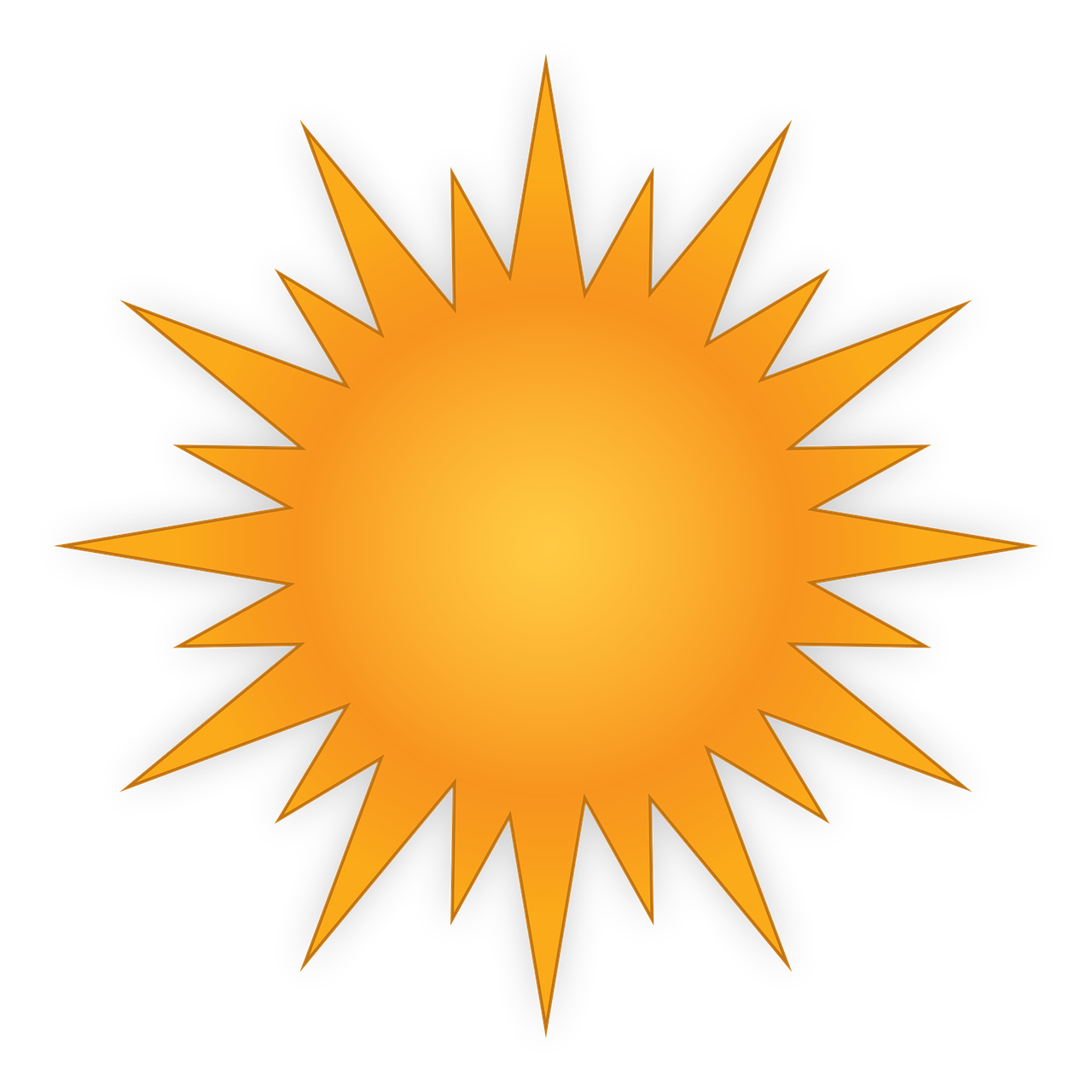 Sun Weather Day Bet Ricon Icon