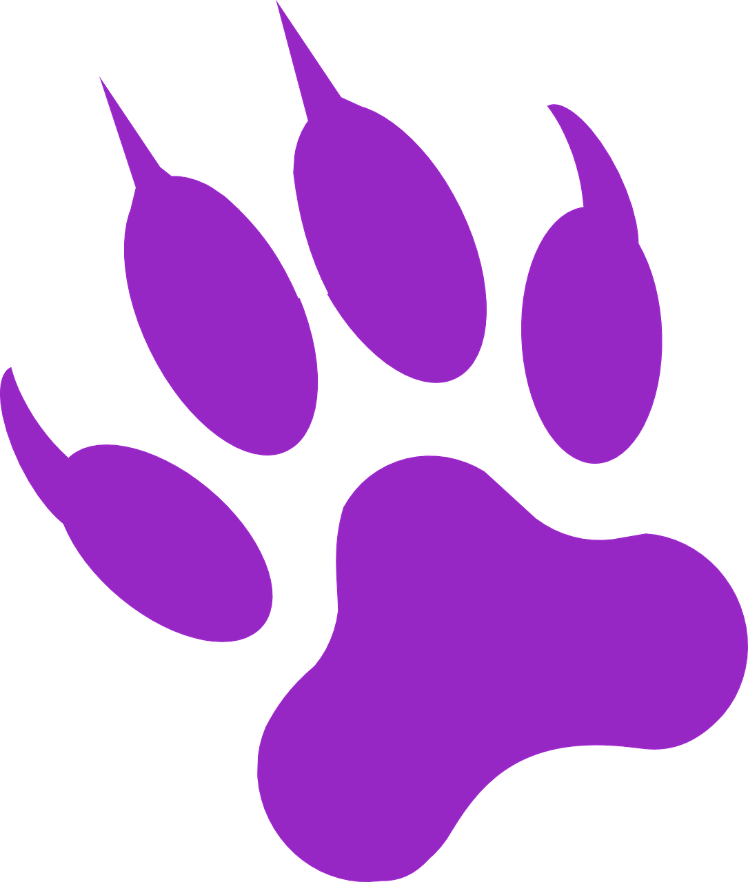 Paw Print Wolf Purple Wild Png Picpng The best selection of royalty free wolf paw print vector art, graphics and stock illustrations. paw print wolf purple wild png picpng